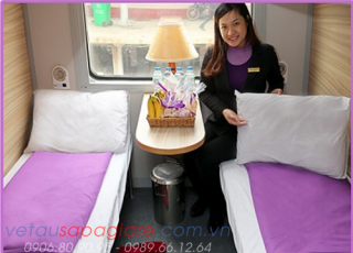 SAPA TRAIN TICKET - VIOLET EXPRESS TRAIN